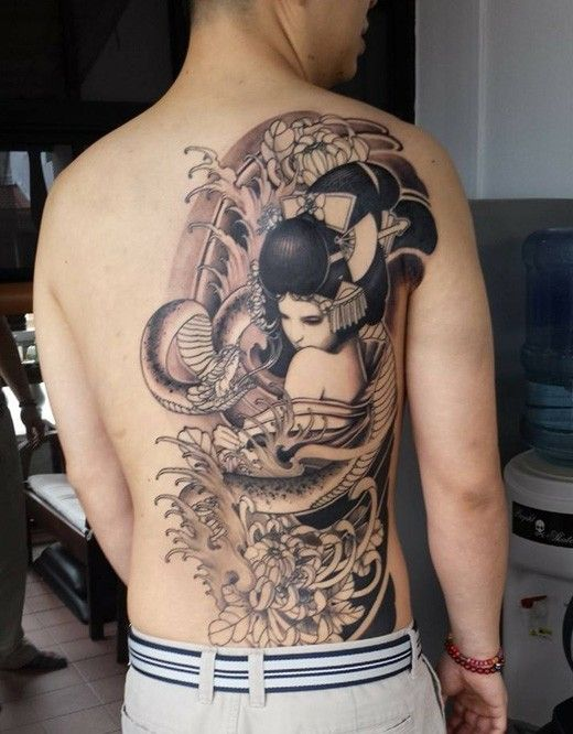Geisha Tattoo Designs | Get New Tattoos for 2016 Designs and Ideas from Latest Tattoos More