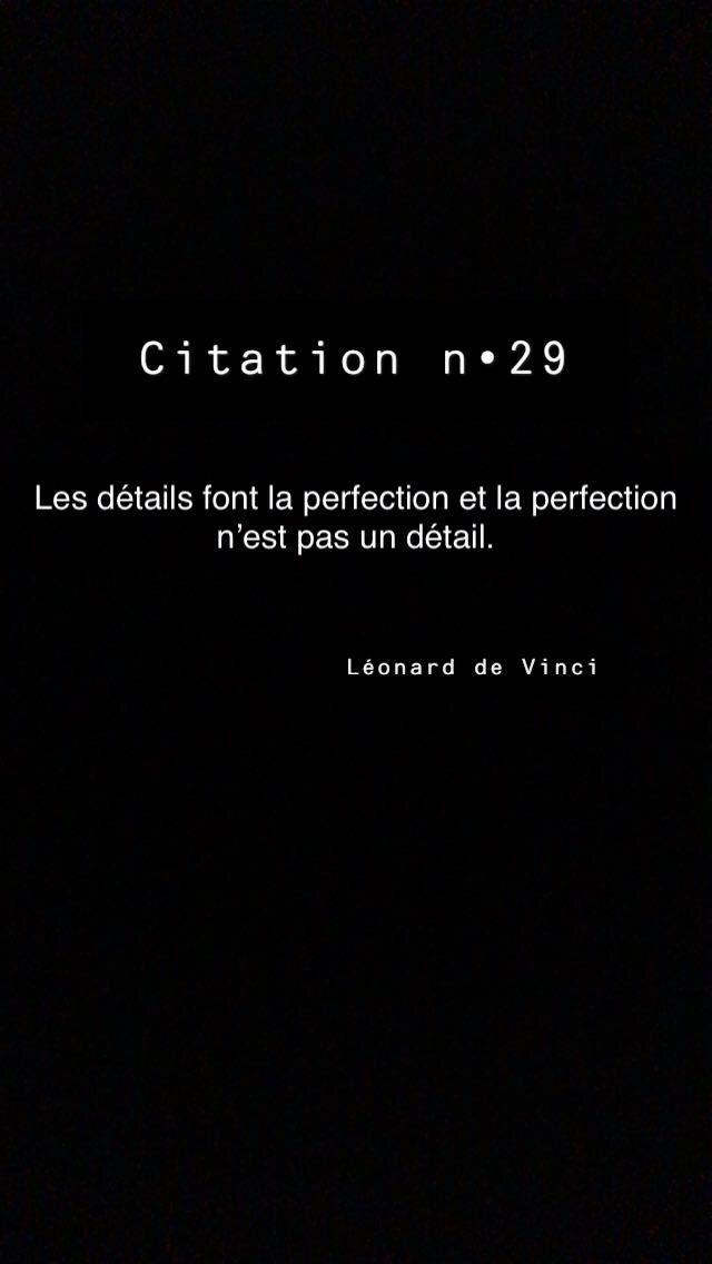 Les Détails Font La Perfection Et La Perfection N'est Pas Un Détail : détails, perfection, n'est, détail, Citation, N°29, Dictons, Citations,, Citation,, Sagesse
