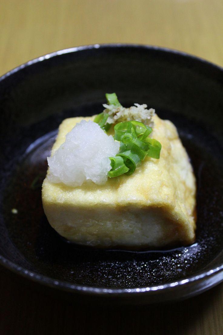 1:1:4のそばつゆde揚げ出し豆腐 by 白雲堂 [クックパッド] 簡単おいしいみんなのレシピが269万品