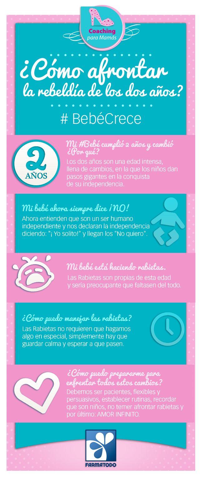 Cómo afrontar la rebeldía de los 2 años #Bebe #Niños #Salud