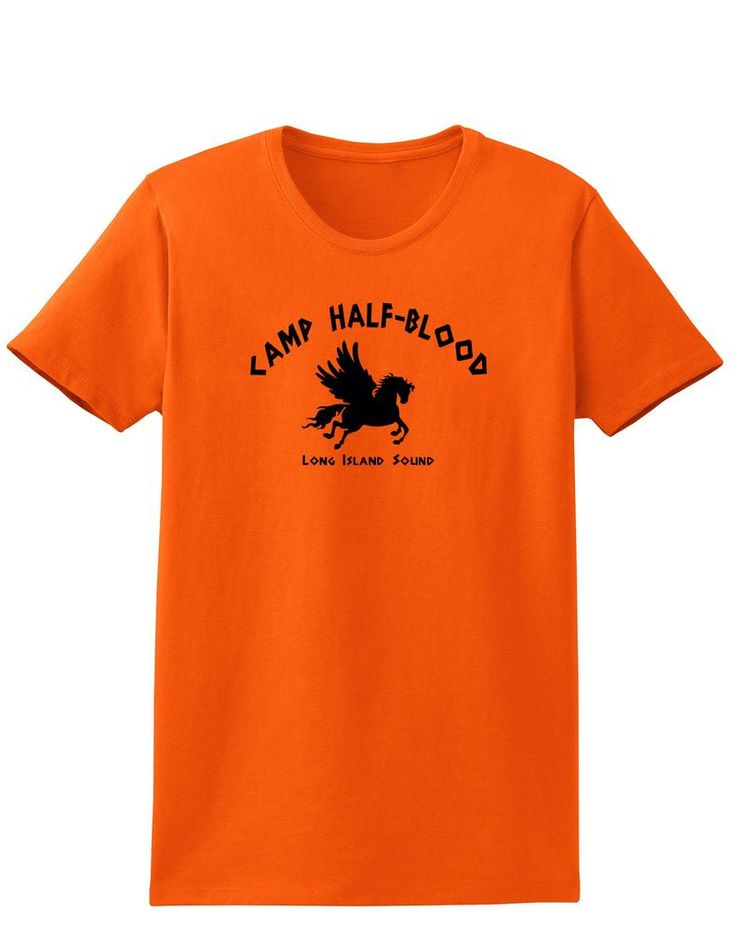Become a Demigod-In-Training as you slip on your Camp Half-Blood shirt! This is great to show your fandom, or as a gift for your favorite Demigod! - Soft, Pre-Shrunk, 100% Cotton T-Shirt. Printed with