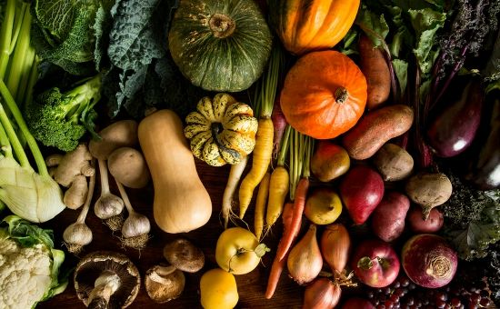 A handy list of produce that's in season this fall.