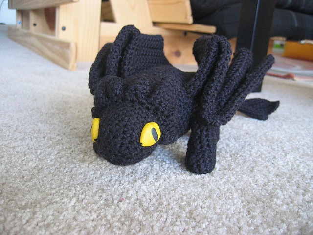 Knitting Pattern Toothless Dragon : 89 best images about Crochet on Pinterest