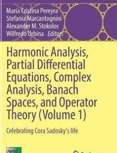 Harmonic Analysis Partial Differential Equations Complex Analysis Banach Spaces and Operator Theory (Volume 1): Celebrating Cora Sadosky's life free download by María Cristina Pereyra Stefania Marcantognini Alexander M. Stokolos Wilfredo Urbina (eds.) ISBN: 9783319309590 with BooksBob. Fast and free eBooks download.  The post Harmonic Analysis Partial Differential Equations Complex Analysis Banach Spaces and Operator Theory (Volume 1): Celebrating Cora Sadosky's life Free Download appeared…