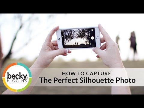 Becky Higgins - Silhouette Photo Tutorial: 7 Tips for Success