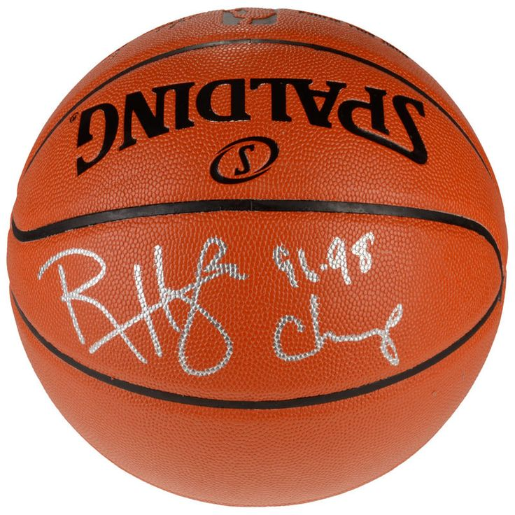 """Ron Harper Chicago Bulls Fanatics Authentic Autographed Indoor/Outdoor Basketball with """"1996-1998 Champs"""" Inscription"""
