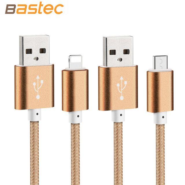 Bastec USB Зарядное Устройство Данных Кабель Нейлон Плетеный Провод…