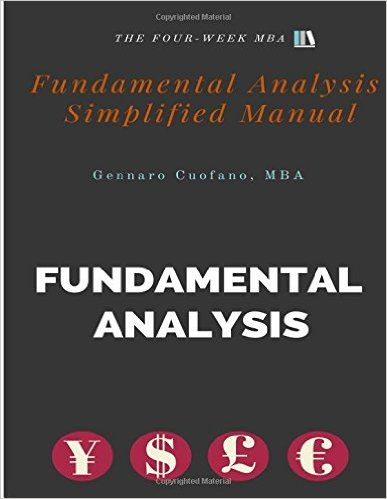 Fundamental Analysis - Simplified Manual: Simplified Manual to Understanding Fundamental Analysis (The Toolbox of the Finance Professional) (Volume 2): Mr Gennaro Cuofano MBA: 9781533267894: Amazon.com: Books