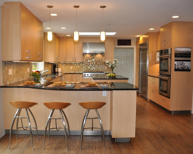 How Many Pendant Lights Over Peninsula : Best images about peninsula on countertops
