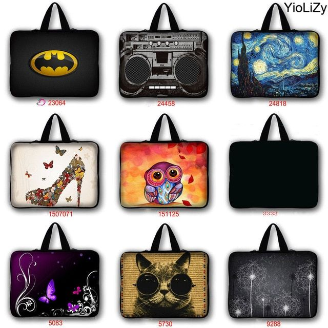 "10/"" 10.1/"" 10.2/"" Inch Notebook Netbook Laptop Case Tablet Bag Pouch Cover new"