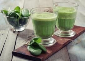 Batido verde de espinaca y banana ¡y adiós barriga! (RECETA)