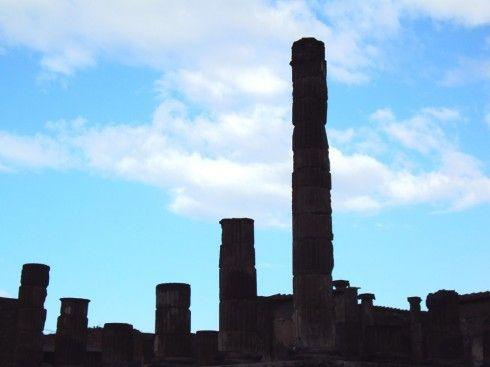 Ruínas de Pompéia