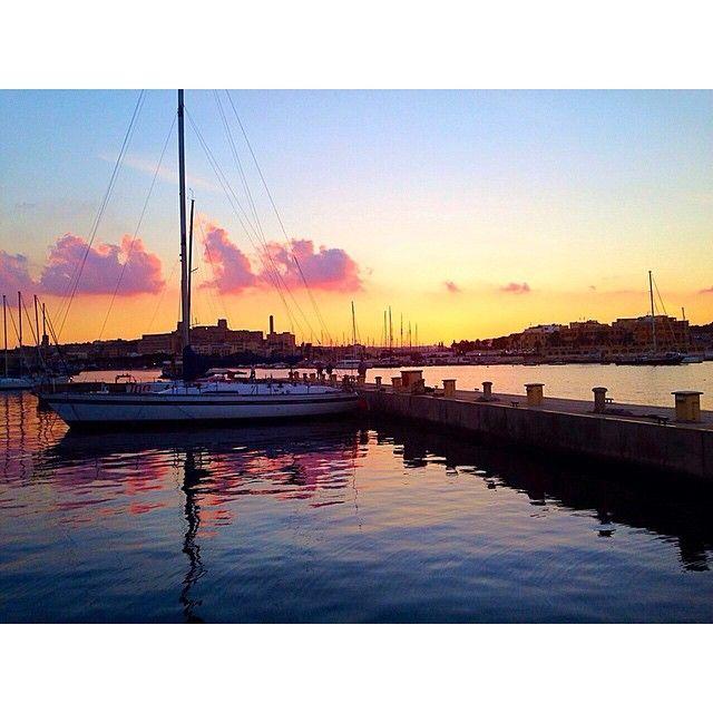 Sunset at the Tiki Bar, Excelsior Hotel, Malta