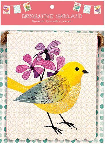 Avian Friends Decorative Garland by Geninne Zlatkis