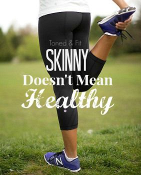 Why Being Skinny Doesn't Mean You're Healthy