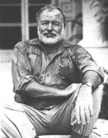 "ernest hemmingway... he lived life to it's fullest   ""So far, about morals, I know only that what is moral is what you feel good after and what is immoral is what you feel bad after."" Do what you feel good about  ― Ernest Hemingway, Death in the Afternoon"