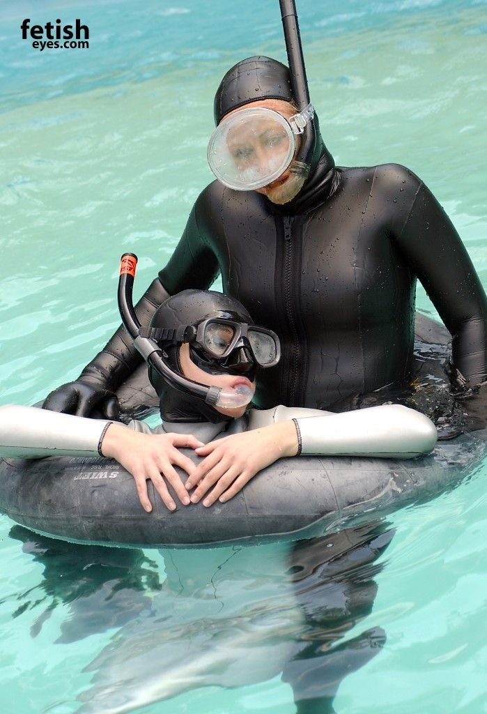 Female diving fetish