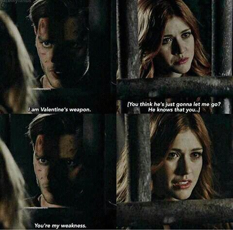 Jace and Clary in 2x04