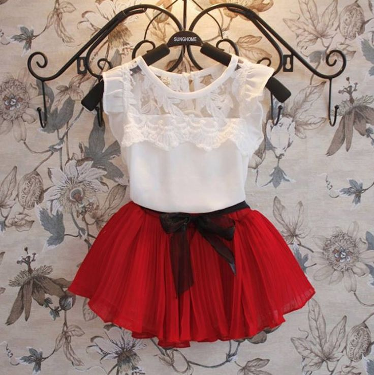 Lovely chiffon top and skirt