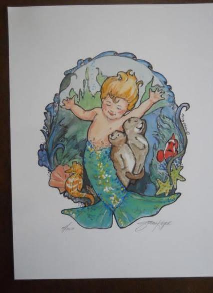 Tattoo Mermaid Baby Etsy 41 Ideas