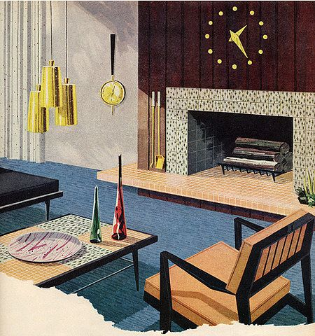mid century living room furniture. Mid Century Interior Repinned By 360 Modern Furniture Living Room