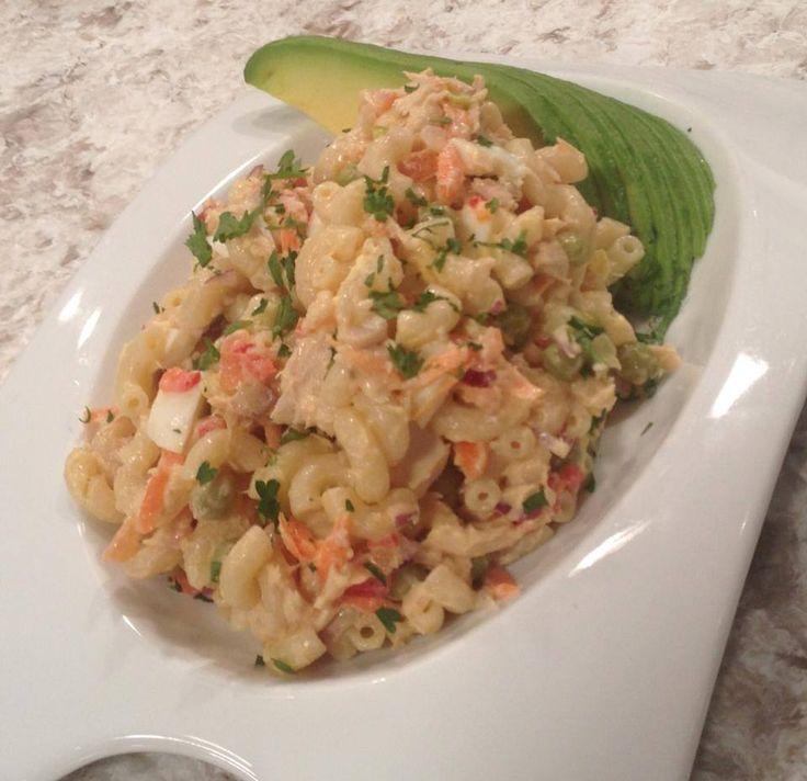 Ensalada de coditos y at n chef edgardo noel receipe - Ensalada de arroz con atun ...