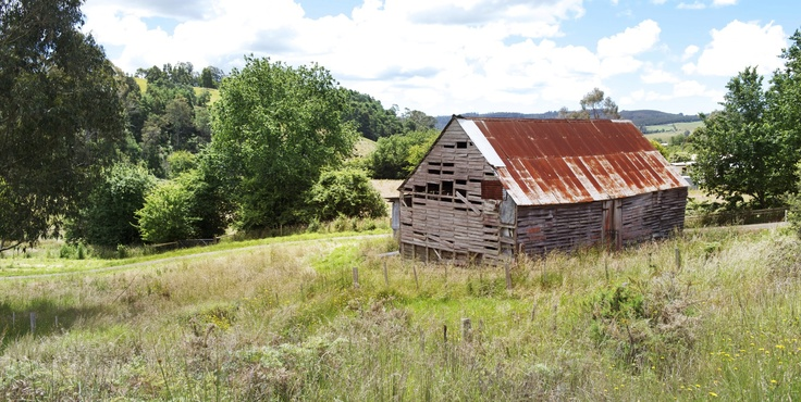 Rustic ole shed - Lilydale, Tasmania