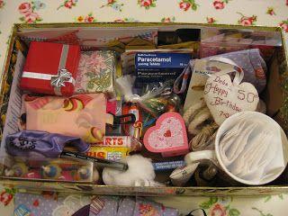 50 th Birthday Box