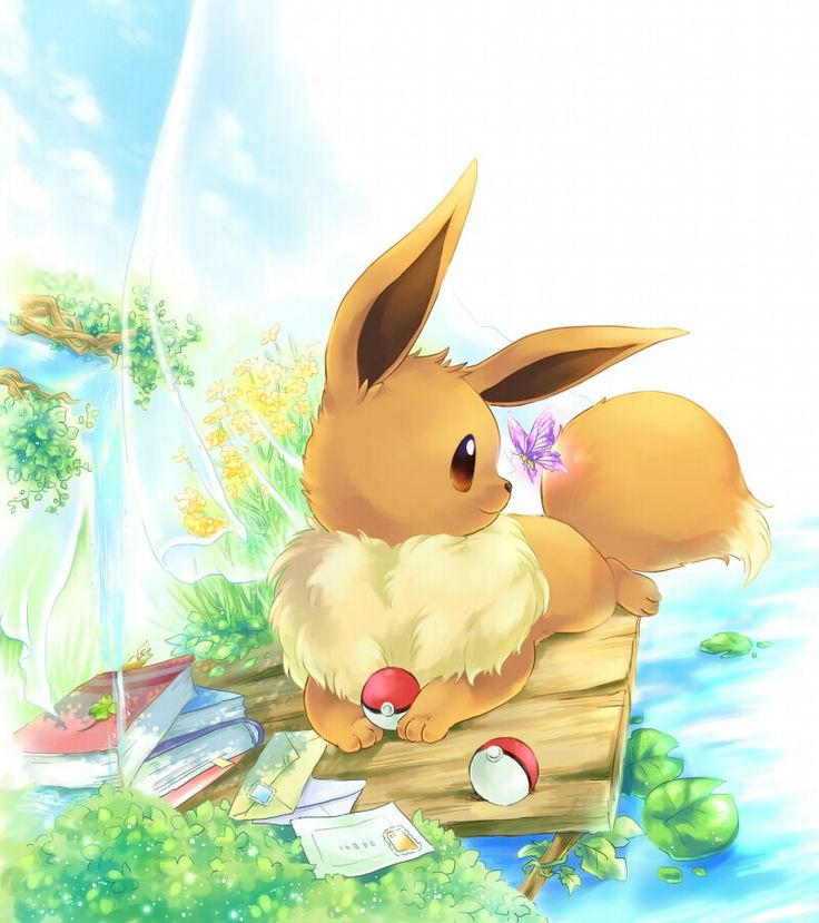Eevee is my most favorite pokemon ever pokemon pokemon eevee pok mon pokemon eeveelutions - Pokemon famille pikachu ...