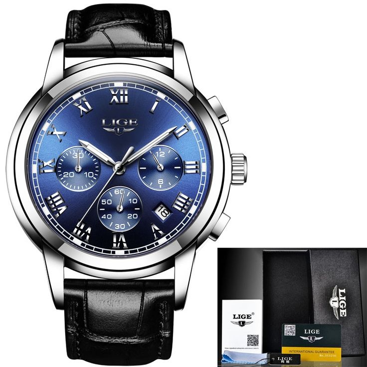 19.99$  Buy now - http://alif1n.shopchina.info/1/go.php?t=32816696184 - 2017 Mens watches top brand luxury LIGE Men Business Leather Quartz Watch Man Sport Waterproof Stopwatch Clock Relogio Masculino  #buychinaproducts