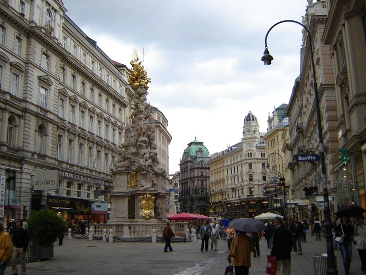 The most random thing about my city is that it was recently called the smartest city on the planet for ranking in the top 10 of the following categories: innovative city, regional green city, quality of life, and digital governance.  Vienna, Austria, City statue