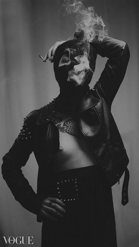 Smoked. Published on Italian PhotoVogue. http://louiskonstantinou.com/gallery/3572/