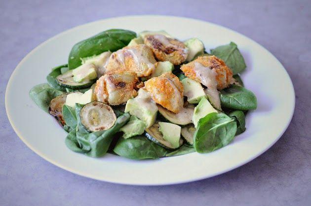 Artichoke salad w.tahinidressing