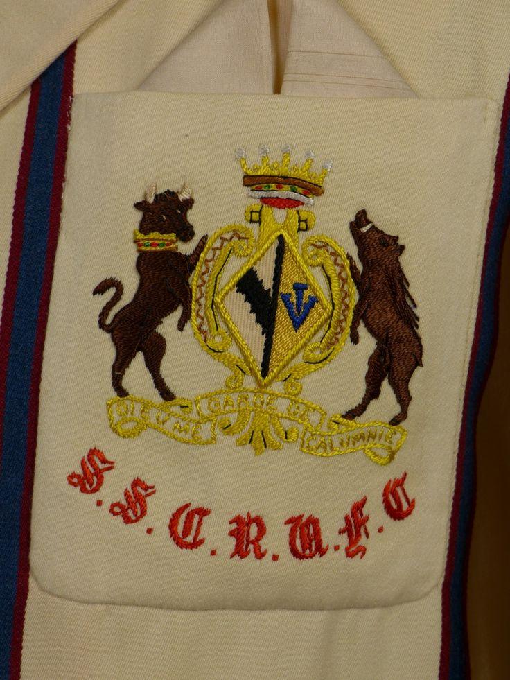 17/0833 (pt) wonderful 1951 sidney sussex college cambridge university sporting blazer & cap 38 short