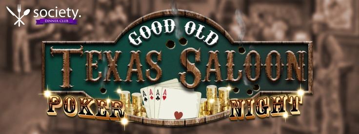 Willin lännen ilmapiirissä perinteinen pokeri ilta