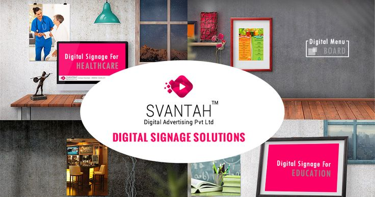 At SVANTAH we invite you to touch base with us to schedule an online demonstration for digital signage solutions