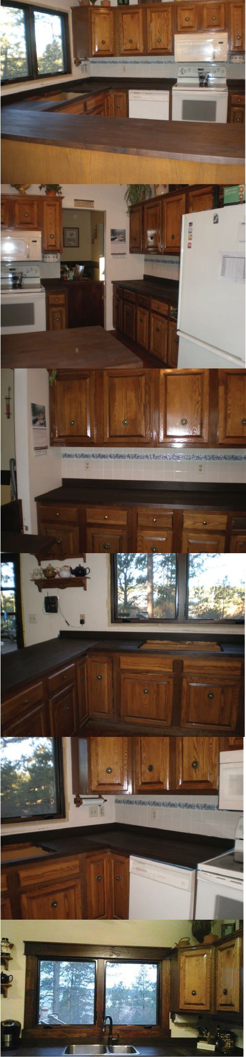 Thank you Deb Davenport for these images! She used Real Milk Paint Dark Tung Oil!
