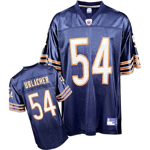 a2b2b516eae ... Reebok Chicago Bears Brian Urlacher 54 Blue Authentic Jerseys Sale Nike  NFL Elite Bears 54 Brian Urlacher Navy Blue 1940s Throwback Mens ...