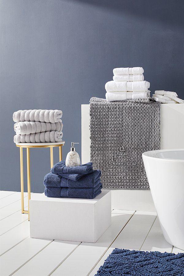 Plush Bath Mat Gentle Bath Towels Step Out Of The Shower Into Exquisite Softness Shop Bath Linens On Oversto In 2020 Bath Linens Luxury Bathroom Rug Plush Bath Mats