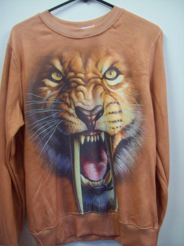 Sabre Tooth Tiger windcheater $34.95  at www.scotttshirts.com.au