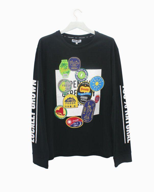 @openingceremony black t-shirt with logos #arropame #conceptstore #bilbao #openingceremony  #fashion  #fw2015 #unisex