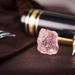The Argyle mine in the East Kimberley region of Western Australia has just unearthed a 12.76 ct. pink diamond, the largest in its long history of discovering notable pink.    February 2012