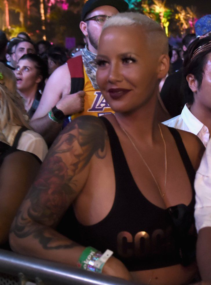 Pin for Later: Coachella or Bust: Celebrities Go All-Out For Festival Fun Amber Rose