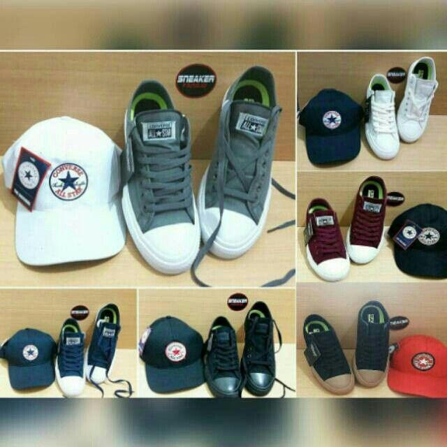 Saya menjual Converse - chuck tylor all star CT II seharga Rp400.000. Dapatkan produk ini hanya di Shopee! https://shopee.co.id/ir_98/244032243/ #ShopeeID