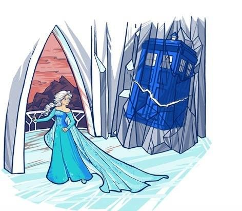 Frozen/Doctor Who.