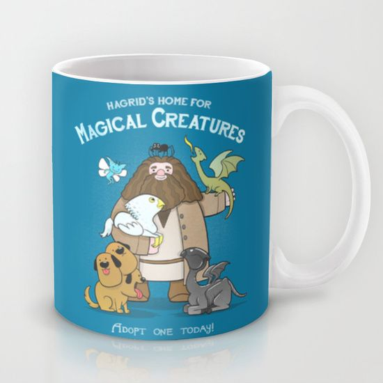 Hagrid's Home for Magical Creatures Mug