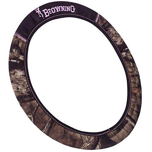 Browning Arms Company Pink Buckmark Logo Infinity Camo Car Truck SUV Neoprene Steering Wheel Cover - http://www.caraccessoriesonlinemarket.com/browning-arms-company-pink-buckmark-logo-infinity-camo-car-truck-suv-neoprene-steering-wheel-cover/  #Arms, #Browning, #Buckmark, #Camo, #Company, #Cover, #Infinity, #Logo, #Neoprene, #Pink, #Steering, #Truck, #Wheel #SUV-Wheels, #Tires-Wheels