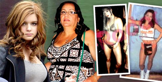 Ariel Winter's Mom Tells Judge: My Estranged Daughter Is Sexualizing Her — Just Look At These Photos! | Radar Online