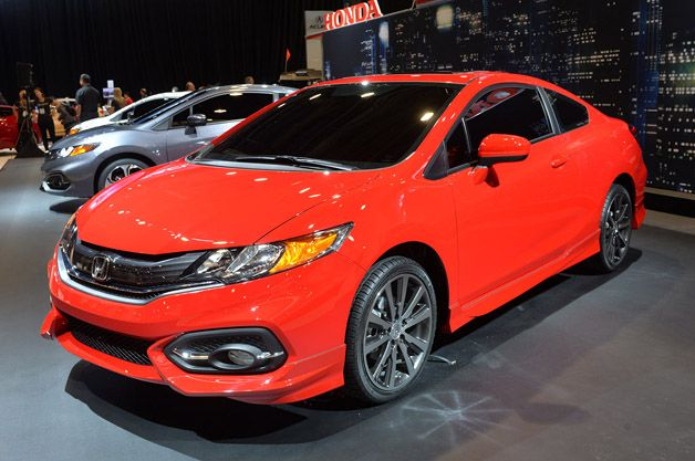 #Honda reveals 2014 #Civic Coupe at #SEMAShow2013. http://aol.it/17DJihc