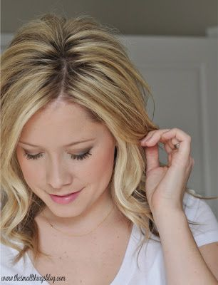 The Small Things Blog: 40+ ways to style shoulder length hair.